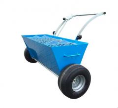 budapesten bérelhető kölcsönözhető szárazanyag szórókocsi