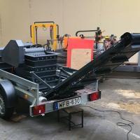 budapest bérelhető kölcsönözhető kőtörő zúzó sitt apprító gép bérlés